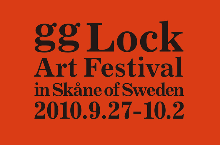 gg Lock Art Festival 2010 in Skane of Sweden