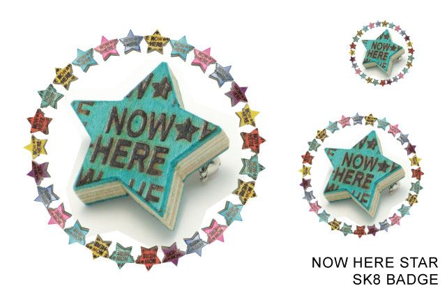STAR SK8 BADGE[NOW HERE]