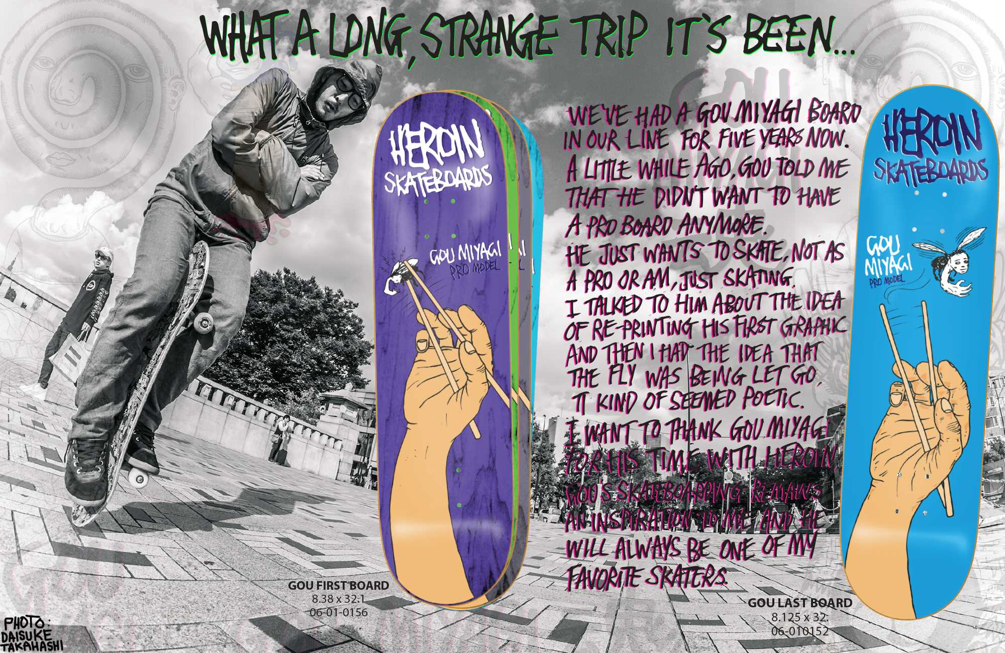 HEROIN SKATEBOARDS 2015 HOLIDAY