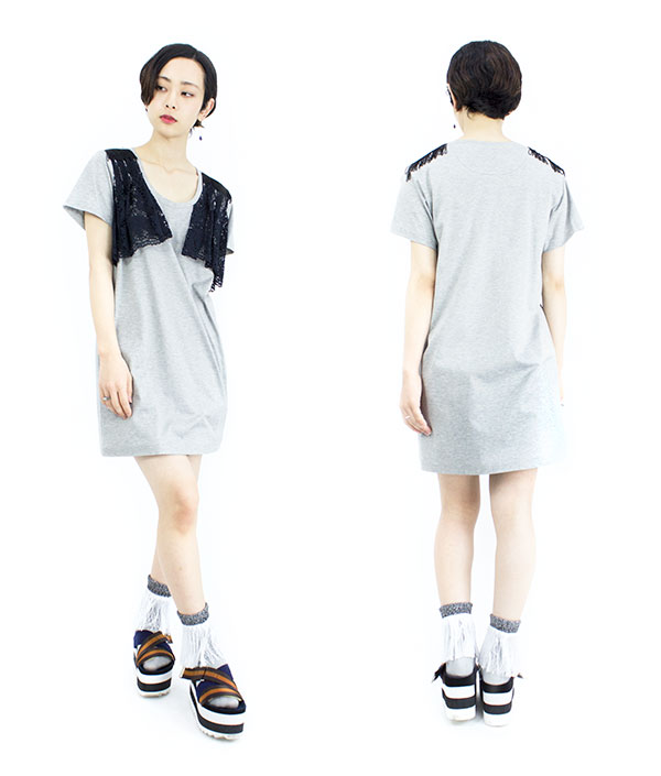 【16SS】HELMAPH&RODITUS(ヘルマフ&ロディタス) feel like I am on top or it dress