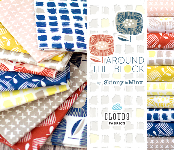 Cloud9 Fabrics Around The Block Collection