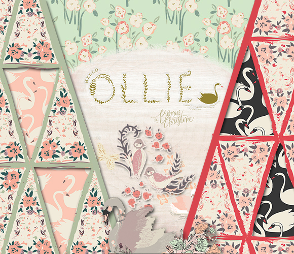 Art Gallery Fabrics Hello, Ollie Collection