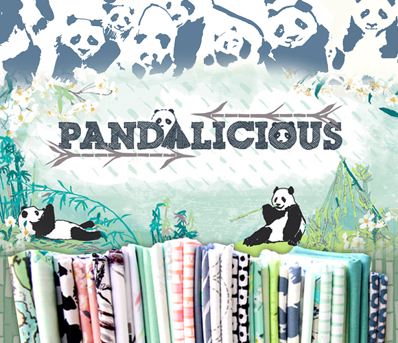 Art Gallery Fabrics Pandalicious Collection
