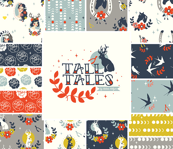 Birch Fabrics Tall Tales Collection
