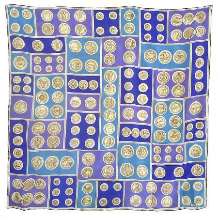 Vera US Coins Vintage Scarf