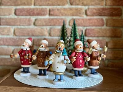 煙り出し人形:Dittman style 「サンタ」
