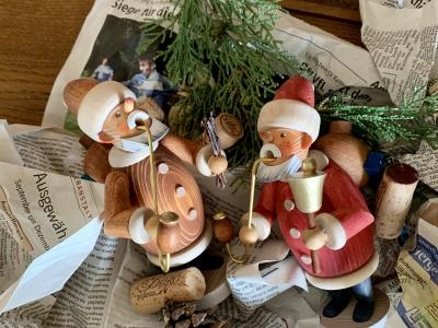 サンタの煙出し人形(お香人形)