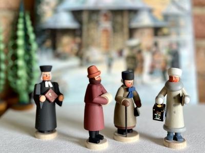 クリスマスミサに・・・(Mettengaenger)・クリスマスマ−ケット(オルゴール)