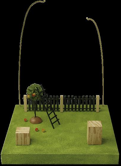 GR 「天使のステージ・果樹園」(柵・はしご付)