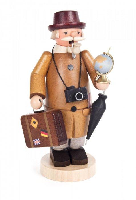 お香人形 FINDEISEN「世界を旅する紳士」 18cmH
