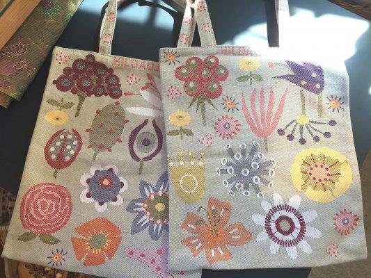Tote bag, small 「フララワー」