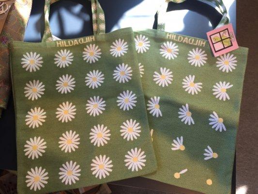 Tote bag, small 「デイジー」