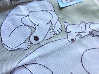 Tote bag, small 「いぬ」