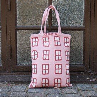 Tote bag, small 「ウインドウ・赤」