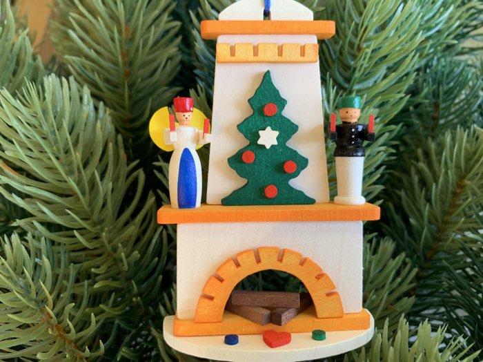 オーナメントGraupner「クリスマスの暖炉」