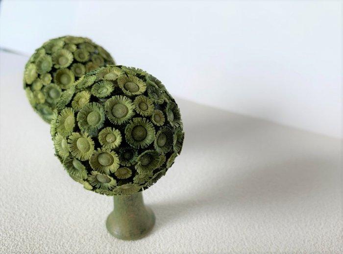 FLADE「丸い緑の木」 6cmH