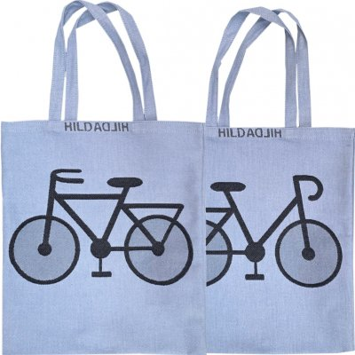 Tote bag, small 「自転車」