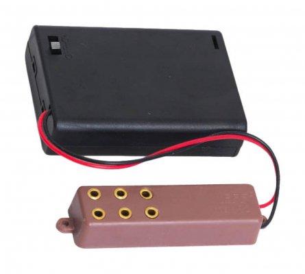 ミニチュア用電池式電源ソケット(3pcs用)