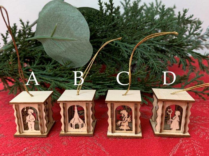「クリスマスマーケットブース」用 ミニミニ「ランタン」