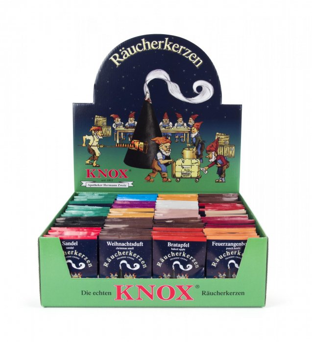 Knoxコーン型お香「紙袋5個入り」