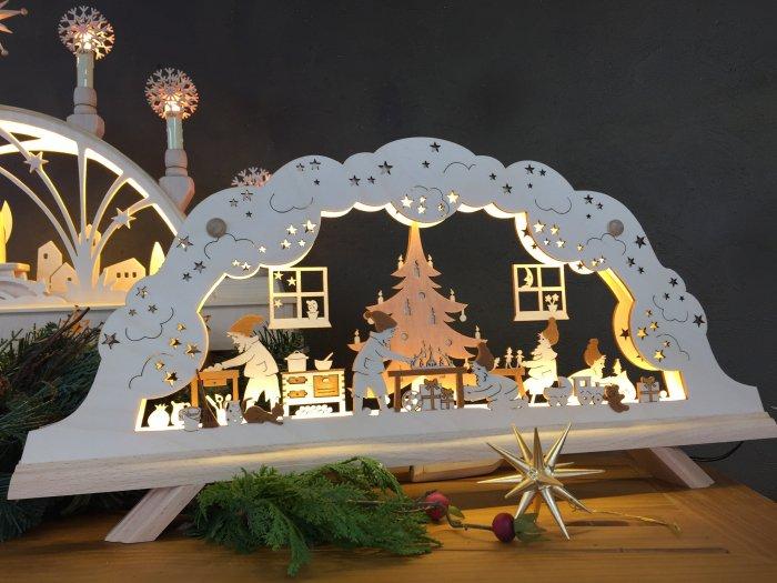 E-アーチ(シュビップボーゲン)「サンタのクリスマス工房」