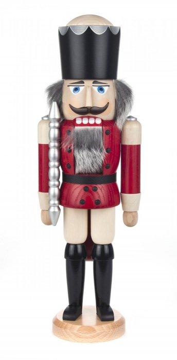 くるみ割り人形SV「王様」(赤)38cmH