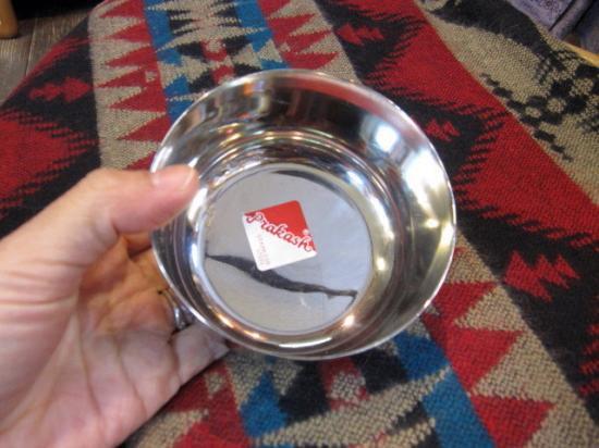 インドステンレス食器/インド食器/カレー小皿/カチョーラ/インドカレー皿・直径9.5cm(CE-095)