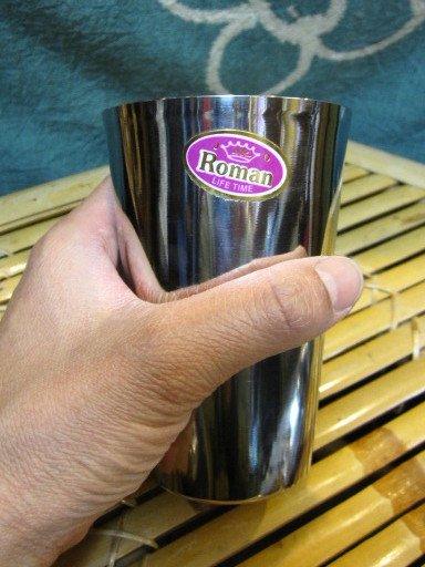 エスニック雑貨キッチン食器/インド食器/インドコップ/インドステンレスコップ(CE-096)