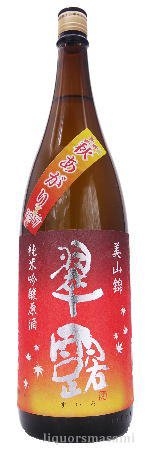 翠露 純米吟醸 原酒 美山錦 秋あがり 1800ml【季節限定・日本酒】