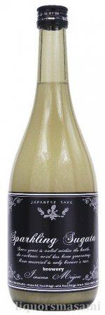 姿(すがた) 純米吟醸 スパークリング 発泡にごり生酒 720ml【季節限定・日本酒】
