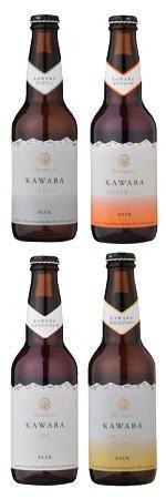 KAWABAビール【330ml・4本セット】専用カートン入りK-3