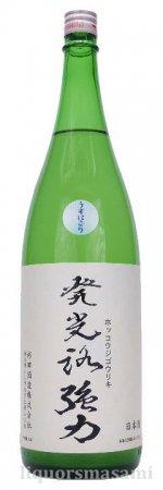 発光路強力 純米吟醸 うすにごり 無濾過生原酒 1800ml【日本酒/杉田酒造】