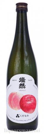 燦然(さんぜん)くだもの 「ももりんご」 720ml【菊池酒造・日本酒】