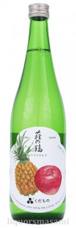 萩の鶴(はぎのつる)くだもの「パインりんご」 720ml【萩野酒造・日本酒】