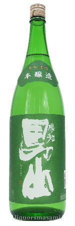 根知男山 本醸造 1800ml【日本酒・渡辺酒造店】