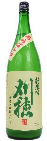 刈穂(かりほ) 純米 新酒あらばしり 生 1800ml【刈穂酒造・日本酒】