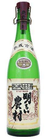 芋焼酎 明るい農村 熟成古酒 25度 720ml