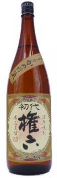 球磨焼酎 初代 権六(ごんろく) 25度 1800ml【大石酒造場】