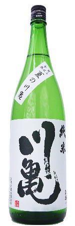 川亀 「夏の川亀」 純米酒 1800ml【季節限定・日本酒】