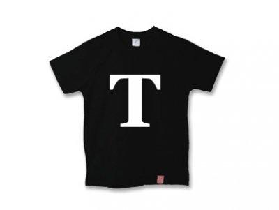 アルファベット 英文字 「 T 」 Tシャツ