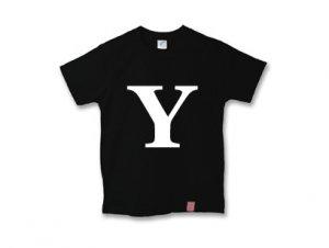 アルファベット 英文字 「 Y 」 Tシャツ