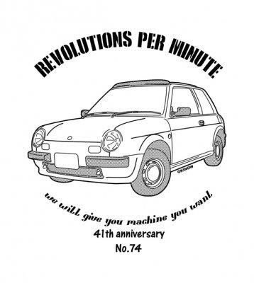 be-1 NO74 Tシャツ