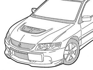ランサー ランエボ9  NO82 ジップアップパーカー