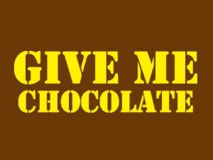 ギブミー チョコレート バレンタインデーTシャツ