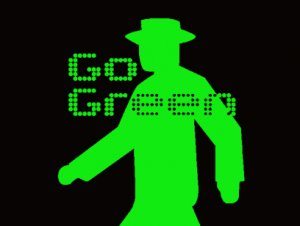 GO GREEN 青信号 Tシャツ