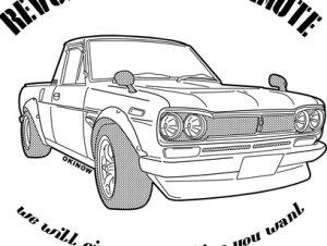 ハコトラ NO.83 Tシャツ
