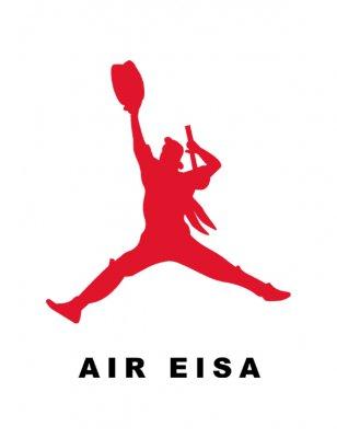 AIR EISA キッズTシャツ