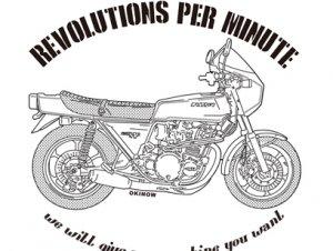 ZR-1(バイク)NO86 ジップアップパーカー