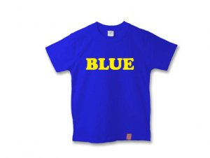 ブルーTシャツ
