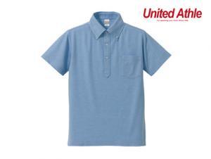 無地ボタンダウン ポロシャツ(胸ポケ付) United Athle 5051